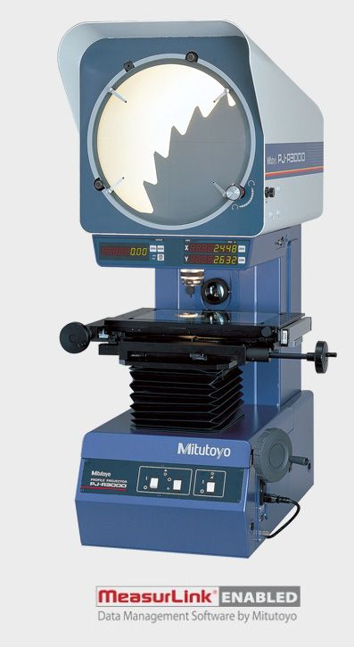 The PJ-A3000 Series Bench-top Profile Projector
